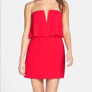 NET BCBG Kate dress in red berry, sz 6